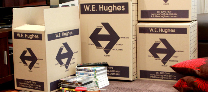 WE Hughes Adelaide Removals - Client Removal Testimonials for WE Hughes Adelaide